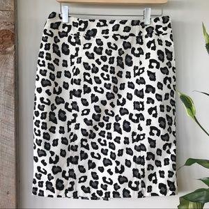 Merona Dalmatian print skirt